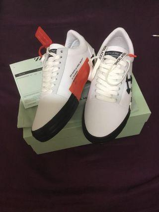 Off-White ss19 Vulc low top sneakers size 42