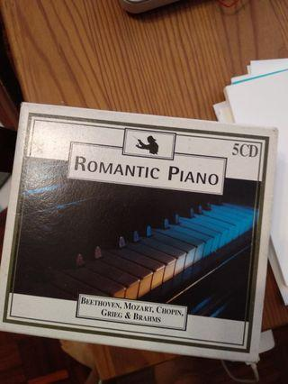 Romantic Piano (5 CD set)