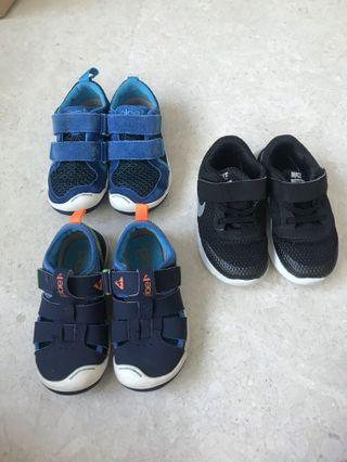 Toddler Shoes 3 pairs