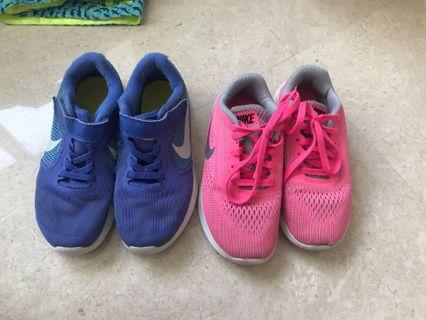 2pairs of Nike shoes