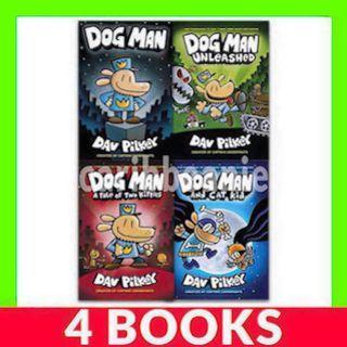 Dog Man Collection Box Set - 4 Books