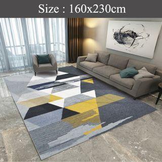 Re-Instock Nordic Carpet Thicken Velvet Mat - Design A1
