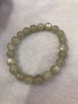 Bracelet moonstone 月光石手链