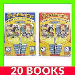 Magic School Bus Science Readers (Box 1 & 2) - 20 Books
