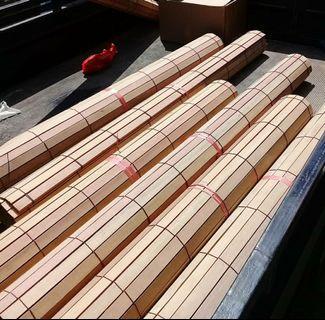 Krey kayu natural 150x200