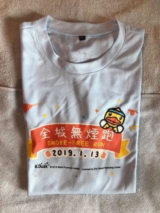 Smoke-free Run 2019 t-shirt size M