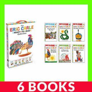 Eric Carle Ready To Read Collection Box Set - 6 Books