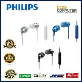SALE!!! Philips SHE3855 Streo Earphone With Mic  Hendpone