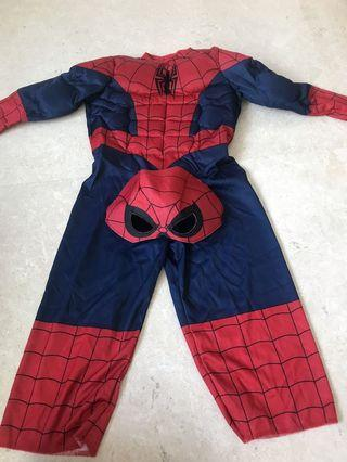 Spiderman Costume size 2-3T