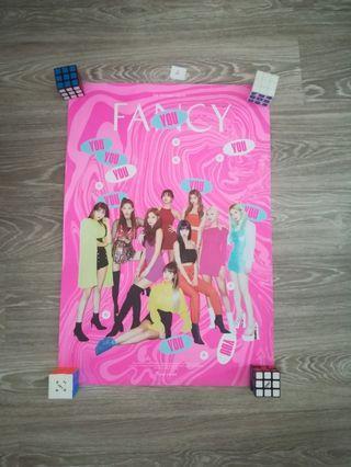 Twice Fancy You PO benifits, Poster