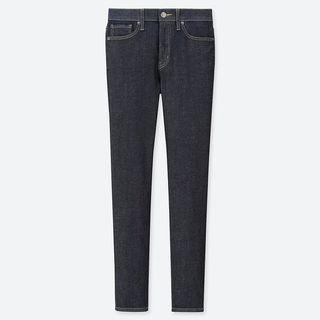 Uniqlo Jeans WOMEN JEANS HIGH RISE CIGARETT NAVY