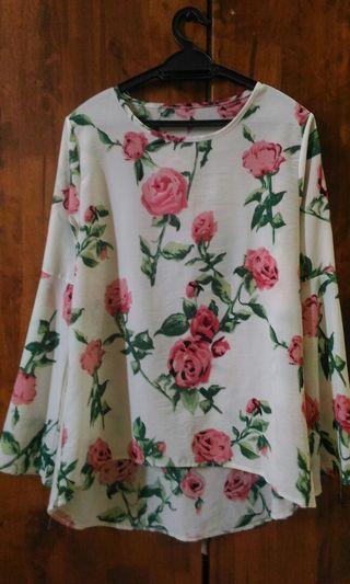 blouse palazo