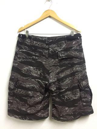 Army Shorts Tiger Stripes