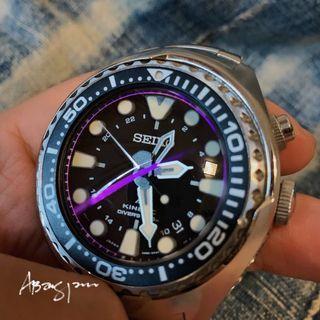 Seiko Prospex SUN019P1 Kinetic GMT Divers 200M