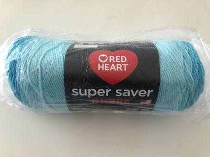 Red Heart Super Saver Ombré