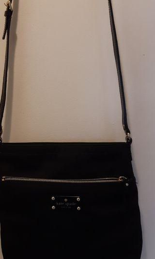 Kate Spade nylon patent leather straps crossbofy