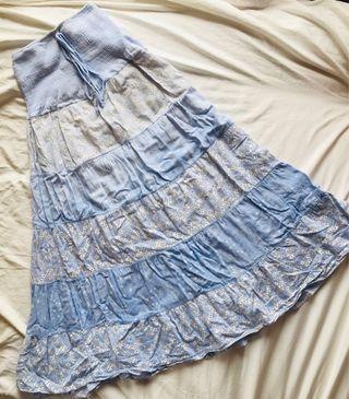 日本 民族裙 長身裙 japan pattern summer dress