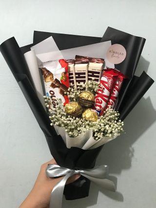 Customised chocolate bouquet
