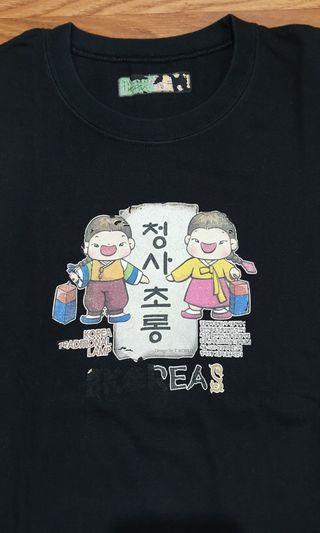Kaos Hitam Korea