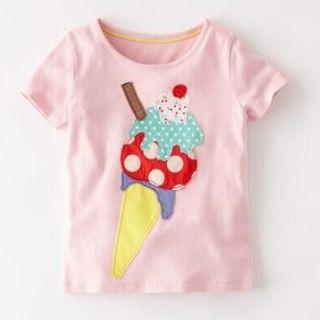 BN Pink Ice cream Top for Girl