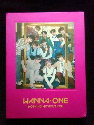 [WTS FAST] WANNA ONE NOTHING WITHOUT YOU ALBUM