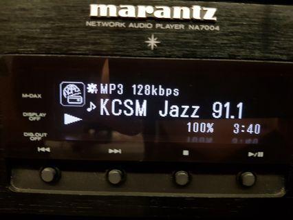 🚚 Marantz NA7004 network audio player for sale