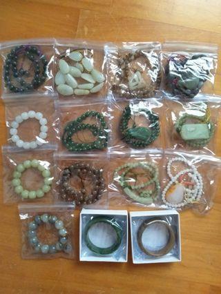 售---15件新疆和闐玉