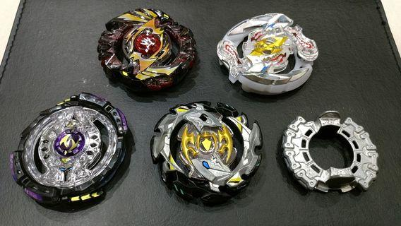 Beyblade Burst God Cho-Z Evolution Turbo - Layer & Disc