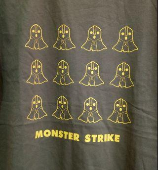 Monster Strike(怪物彈珠)男裝全棉Tee