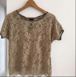 Roaring 20's Lace Top