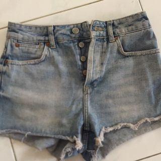 Topshop hotpants #mauvivo