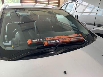 $15/pair Hybrid Car Wipers