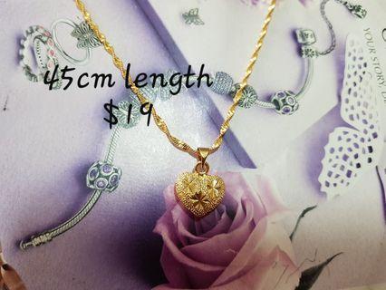 24k gp Necklace set