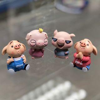 豬仔擺設4隻