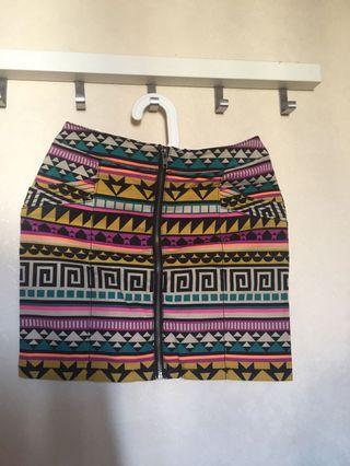 HnM Tribal Skirt