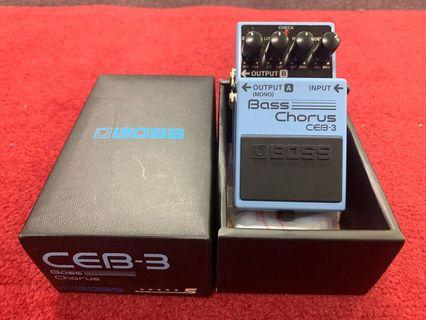 Boss Bass Chorus pedal