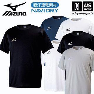 【💥 吸汗速乾】Mizuno 速乾男女通用簡約T Shirt ( T恤 ) S 至 2XL 碼 NAVIDRY