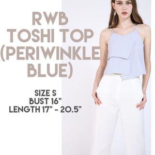 Runway Bandits Toshi Top (Periwinkle Blue)