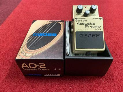 Boss Acoustic Preamp pedal