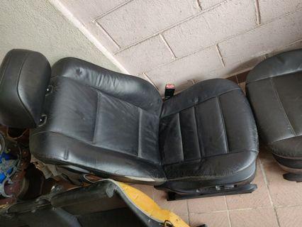 E46 CI coupe electric leather seats