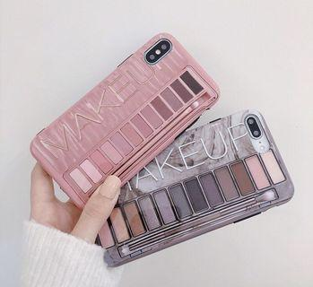 Make up eyeshadow naked iphone 6 7 8 plus X XR XS Max case
