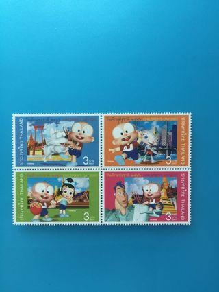 泰國郵票—004