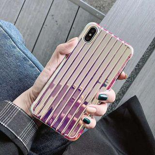 Hologram laser luggage bag iphone 6 7 8 plus X XR XS Max
