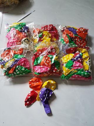 Balloon(25XL balloons in 1 packet)/Polka Dot Balloon