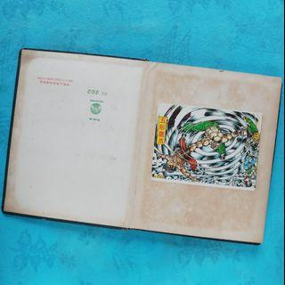 舊郵票簿一本