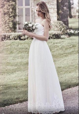 Wedding gown 輕婚紗白裙