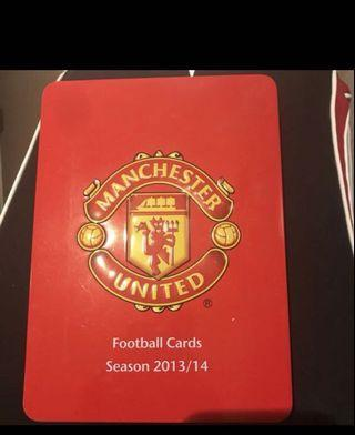 Manchester United Collection Card Album