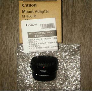 Canon Ef to Ef M Adaptor 轉接器