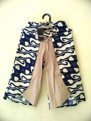 Celana Batik Kulot Panjang 1/4 All size