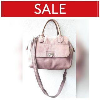 💥 RAMADHAN SALE 💥 LILY ROSE GENUINE LEATHER 2 WAY BAG